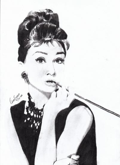 Audrey Hepburn by vackert